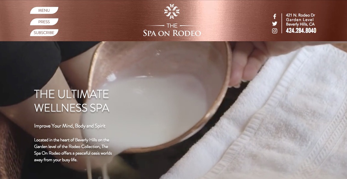 The Spa On Rodeo Beverly Hills Spa