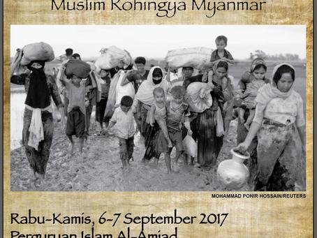 Al-Amjad peduli Rohingya