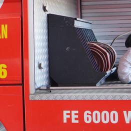 Mengenal Profesi Pemadam Kebakaran, PG-TK Al-Amjad Kunjungi Kantor Damkar