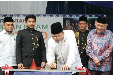 Peresmian Perguruan Islam Al-Amjad