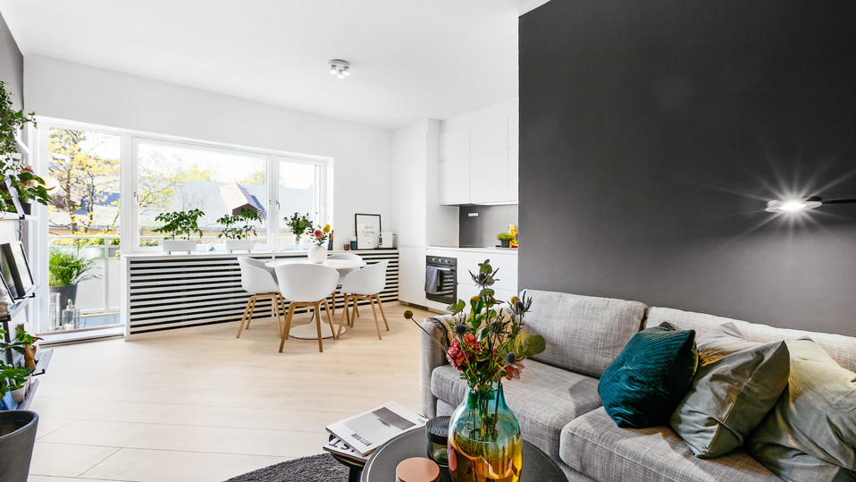 ETTER - Stue og kjøkken