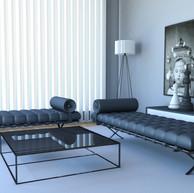 3d visualisering av stue