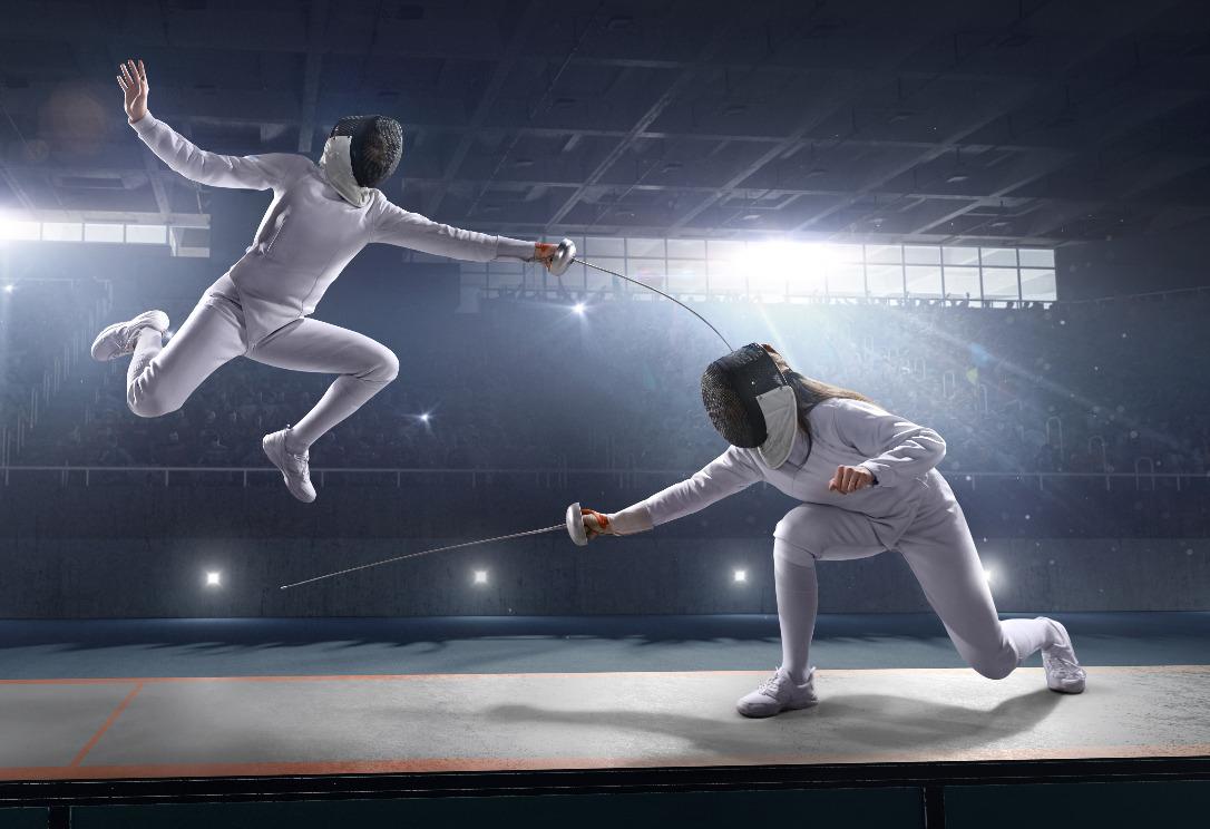 Escrime : sport athlétique