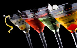 Wide Cocktail selection