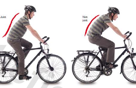 Ideaal fietsweer? Hier enkele ergonomische tips om pijnvrij en comfortabel te fietsen.