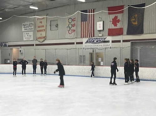 OFF-ICE Class: Four Classes