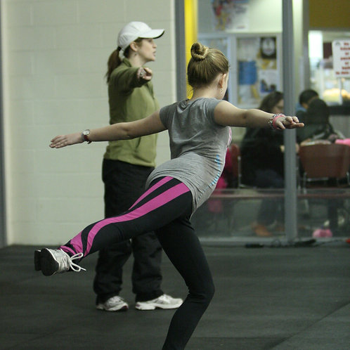 Summer OFF-ICE Class: Wednesday, July 21 (jump/stretch)