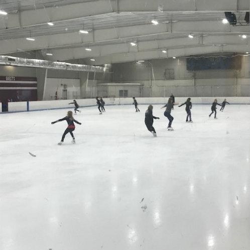 Summer ON-ICE Class: Monday, July 5 (edge/on-ice skills)