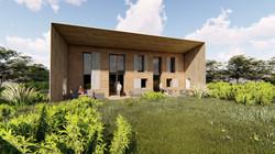 Maison passive architecture Dedieu Gryts