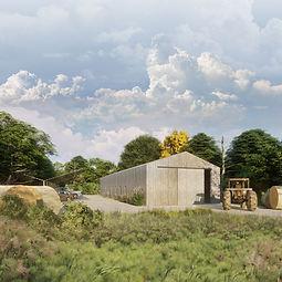 Bâtiment agricole Pommes bio écologie.jp