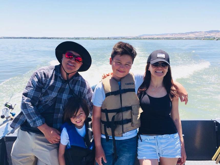We love Soo Hoo Sportfishing in Oakley, California