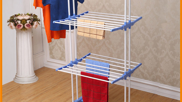 Three Layer Cloth Hanger stand