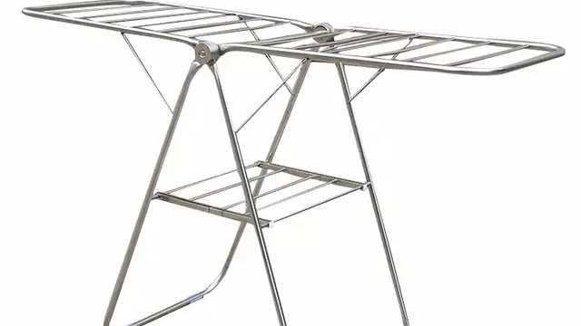 Foldable Cloth Hanger - Stainless Steel