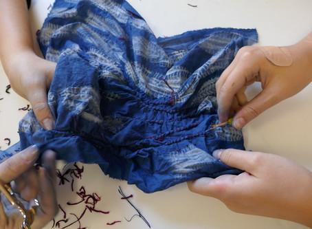 Création textile au lycée