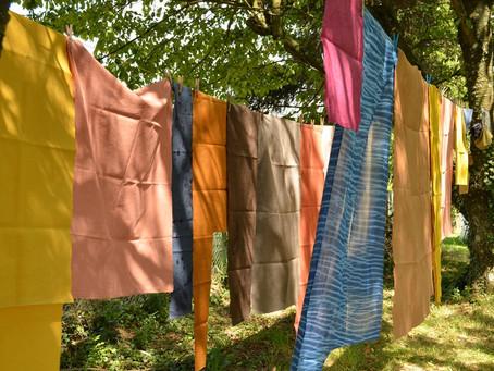 Rencontre autour du chaudron : les teintures naturelles, questions et témoignage