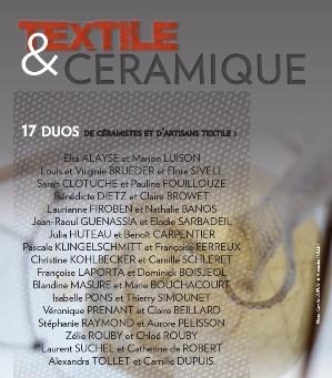 """Exposition """"textile et céramique"""""""