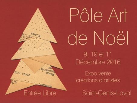 Exposition - vente Pôle Art de Noël