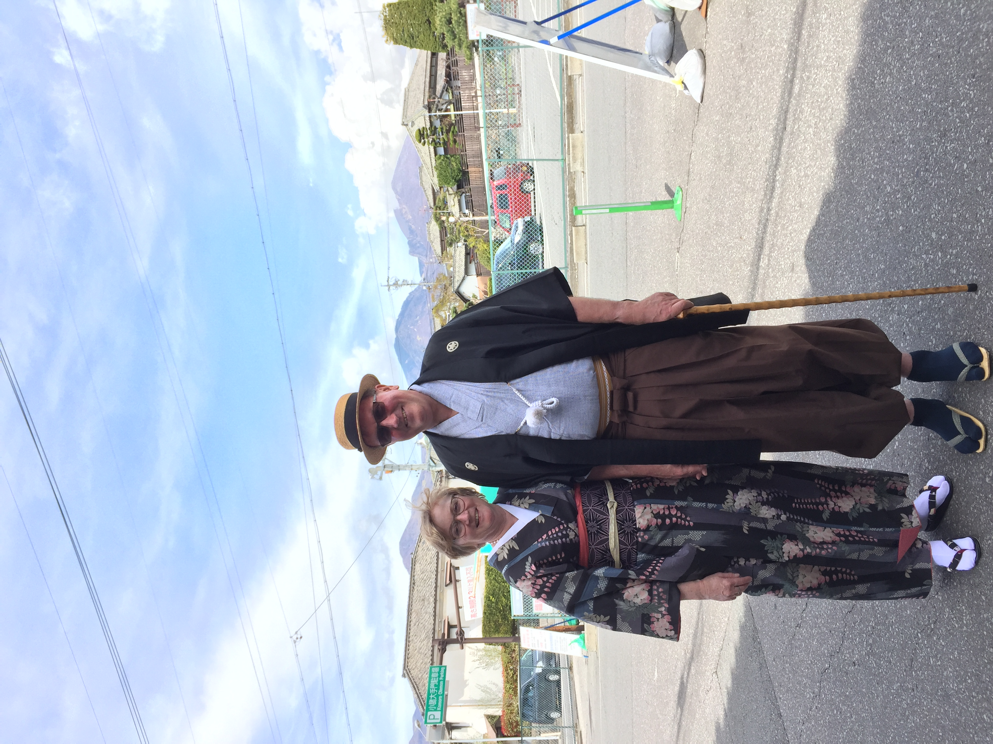 外国人とハイカラ衣裳