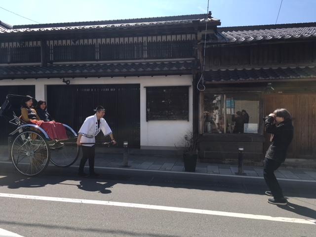 新法被撮影&お披露目会
