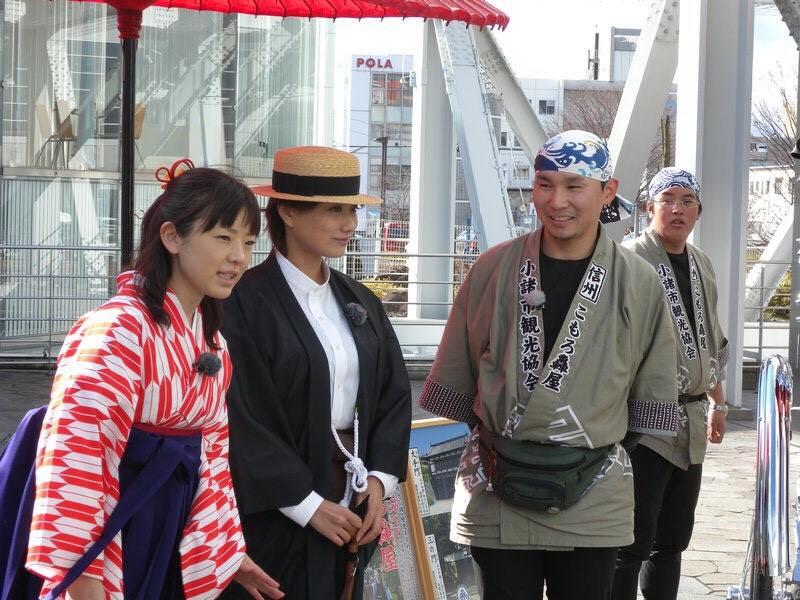 大下佳菜さんと杉田智恵美さん