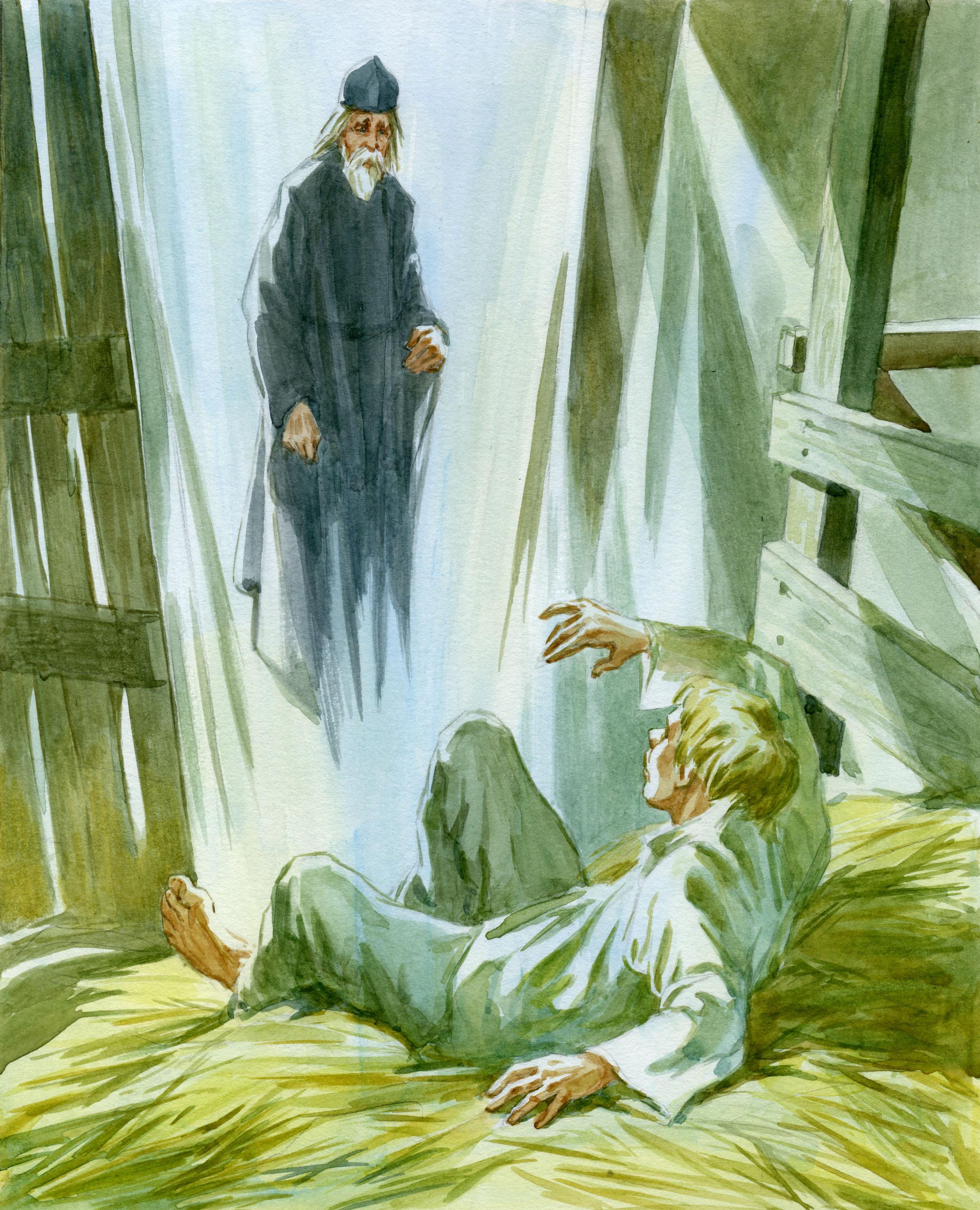 явление монаха
