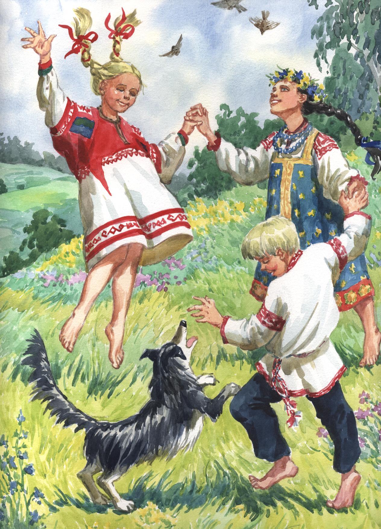 иллюстрации  дети