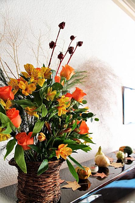 Flores para la Cena de Acciónde Gracias