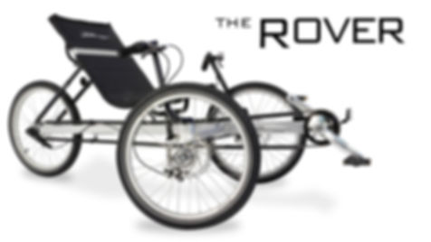 TerraTrike recumbent The Rover Bike Rental