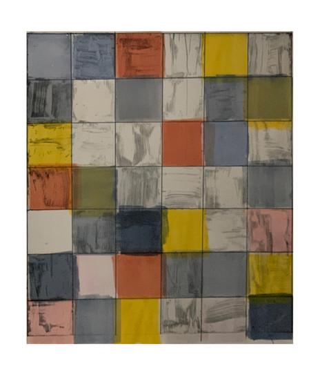 42 permutations Yellow, Brick, Gray, and Blue