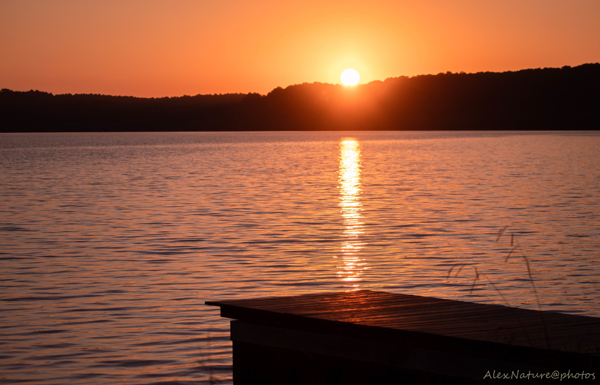 Lac de Léon, côté Vielle St Girons