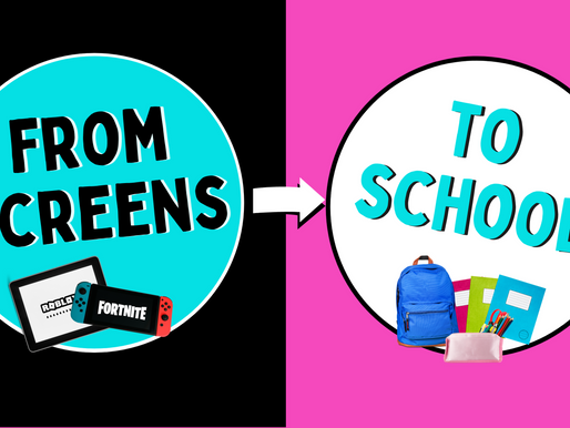 From Screens to School - ideas on how to create new screen time routines for the new school year