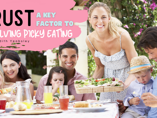 Trust is a Key Factor to Resolving Picky Eating