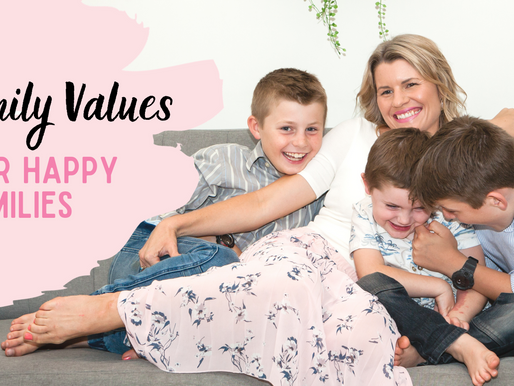 Family Values for Happy Families