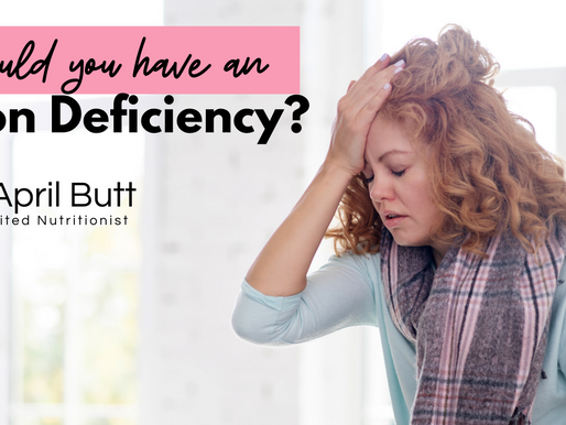 Could you have an iron deficiency?