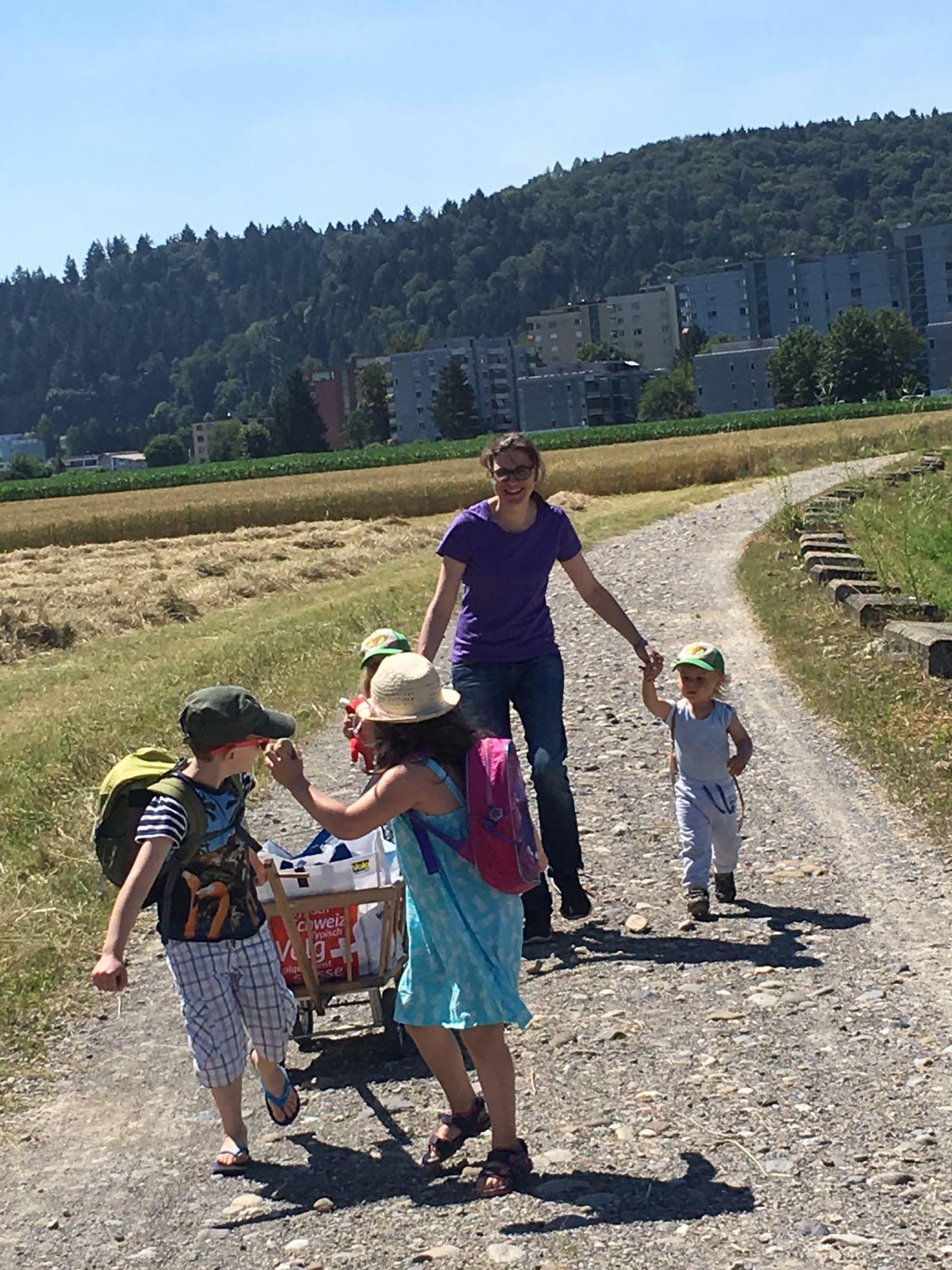 Spaziergang - KiTa Gross & klein