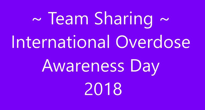 Overdose Awareness Day 2018