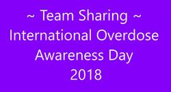 Overdose Awareness Day 2018