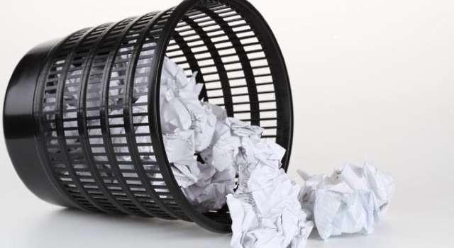 Бумажные документы очень легко потерять