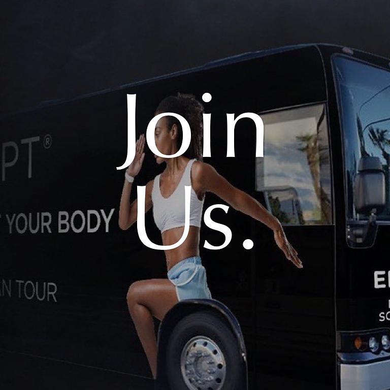 EMSCULPT & EMSELLA BUS TOUR