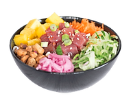 Healthy Tuna Poke Bowl