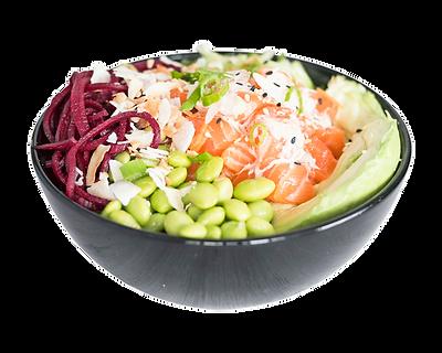 Healthy Salmon Poké Bowl