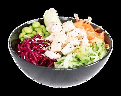 Healthy Vegan and Vegetarian Friendly Tofu Poké Bowl