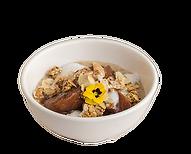 Breakfast Apple Crumble Oats Health Bowl