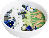 Breakfast Superfood Green Smoothie Bowl