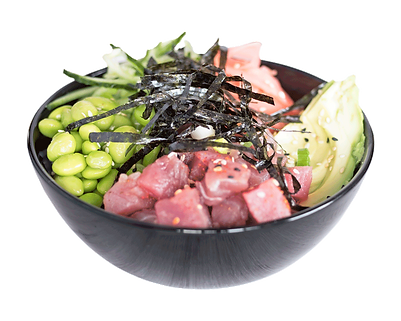 Healthy Tuna Poké Bowl