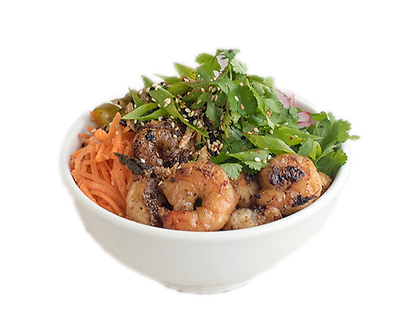 Healthy Prawn Poké Bowl