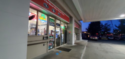 Bitcoin ATM inside Exxon Gas Station