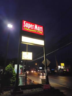 Super Mart sign