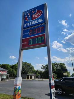 VP Racing Fuel sign