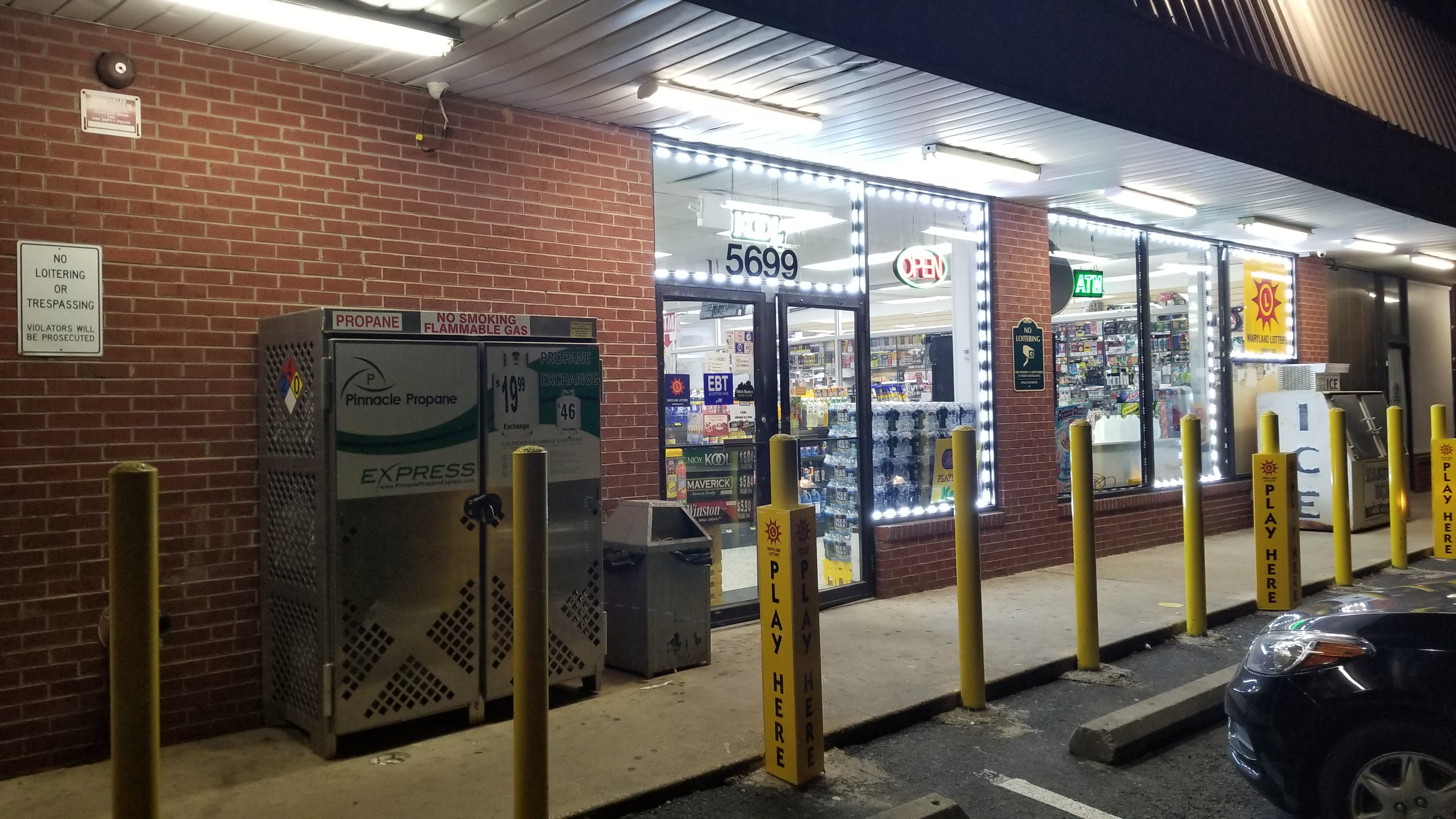 Bitcoin ATM inside One Stop Food